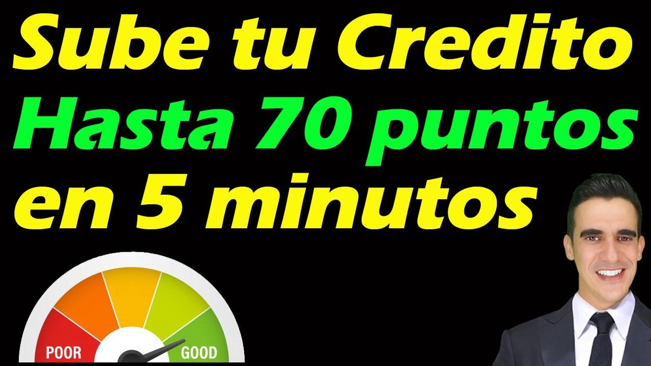 Como Subir Tu Puntaje De Credito hasta 30 puntos en 5 minutos (Metodo Secreto)  Credit Score