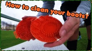 How to clean your boots?! Tyger Paw - AK#17