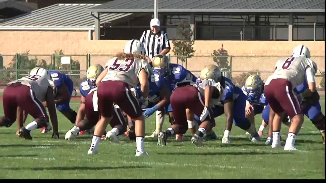 Antelope Valley College vs. Hancock Football 2016 - YouTube