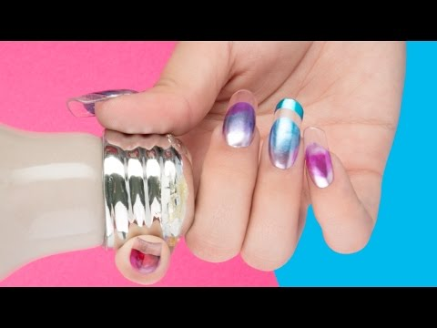 Iron Shine / Color Gel By Organic® Nails - YouTube