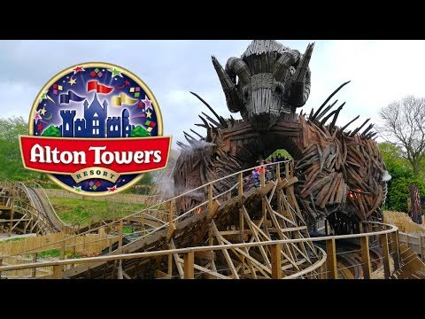 Alton Towers Vlog April 2019