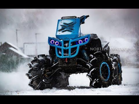 Квадроцикл. Резина зимой 2-часть. Assassinator SuperATV & Silverback Gorilla, что лучше?