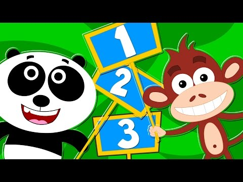 Kids TV Nursery Rhymes - Learn To Count Animal   Songs For Kids   Counting Numbers Kids Tv