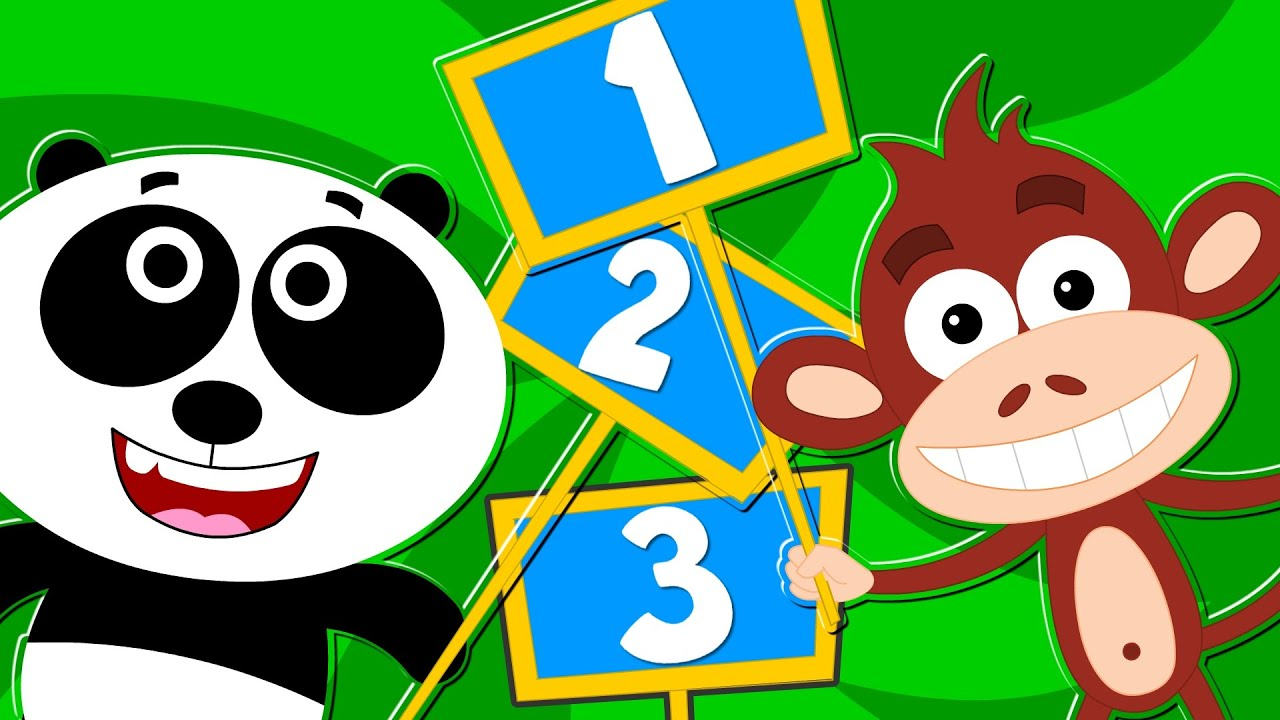 Kids Tv Nursery Rhymes Learn To Count Animal Songs For