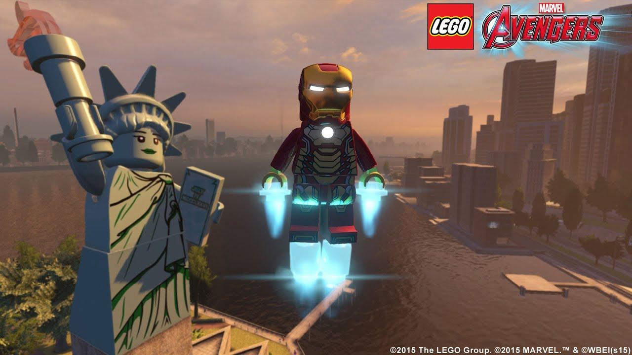lego marvel super heroes avengers reassembled 2015 trailer