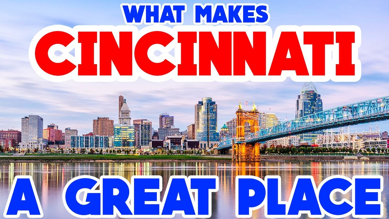 CINCINNATI, OHIO - The TOP 10 Places you NEED to see!