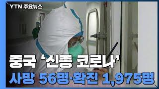 확산일로 중국 '신종 코로나'...사망 56명·확진 1천975명 / YTN