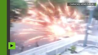 Elections au Vénézuéla : les manifestants s'en prennent aux forces de l'ordre à coups de pétards