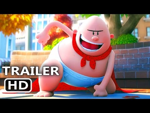 Thumbnail: CAPTAIN UNDERPANTS Official Trailer (2017) Animation, Kevin Hart Movie HD