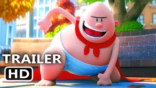 CAPTAIN UNDERPANTS Official Trailer (2017) Animation, Kevin Hart Movie HD