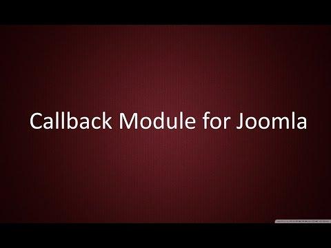 Call me back module for Joomla 2.5 - 3.x