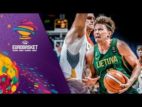 Germany v Lithuania - Highlights - FIBA EuroBasket 2017