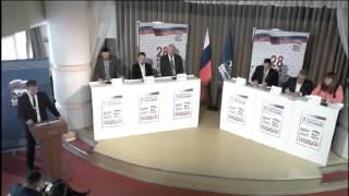 Предварительное голосование. Дебаты. Брянск - 20.05.2017г.