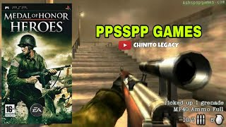 MEDAL OF HONOR HEROES 2 - PPSSPP GAMES | WITH DOWNLOAD LINK