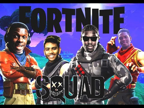 THE DREAM TEAM! Part 1 on Fortnite Battle Royale! Can we get a win?!