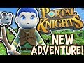 MY NEW FAVOURITE GAME!! - PORTAL KNIGHTS! #1  Gameplay 