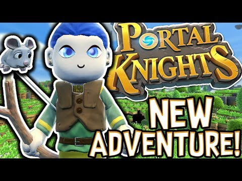 Thumbnail: MY NEW FAVOURITE GAME!! - PORTAL KNIGHTS! #1 |Gameplay|