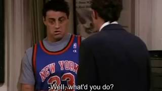 Friends - The best of Chandler and Joey (only) Season 7 Uncut