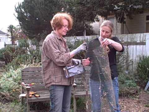 Amy Stewart and Gen Schmidt try out the Cuts and More from Fiskars.AVI
