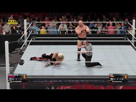 WWE 2k17 XGW Steve Austin Vs Edge X Factor Championship
