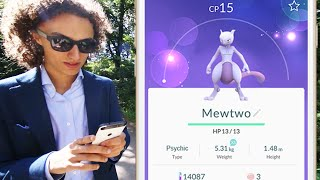 HOW TO CATCH MEWTWO!? (Pokemon Go)