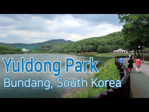 Walking in Yuldong Park : The rest place of Seongnam citizens [율동공원에서 산책하기]