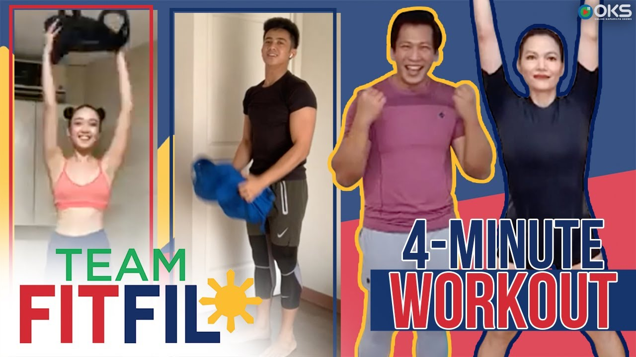 4-Minute Bag Workout with Argel and Bianca | Team FitFil Episode 20