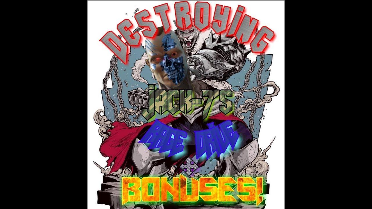 #Tekken7 #TekkenWorldTourDestroying Jack-7's Rage Drive! + Bonuses!!