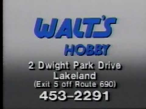 Walt's Hobby Shop commercial 1991 - YouTube