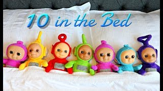 10 In The Bed - Emily Playing with Balloons and Teletubbies
