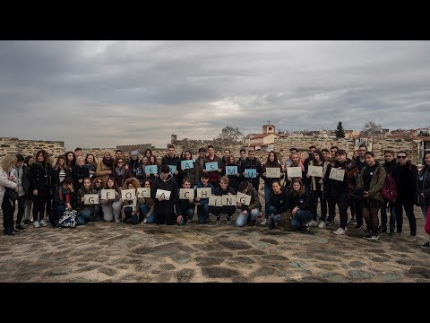 Erasmus+ project. Geocaching In and Out the Classroom - Minds on the Move. National teams in Greece