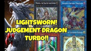 Lightsworn vs Meta! October 2018 Duels and Deck Profile! Judgment Dragon Turbo! YGO PRO Yu Gi Oh!