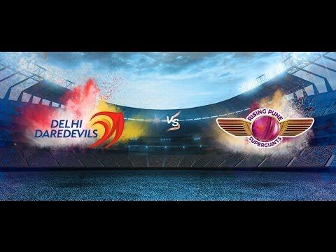 (DD) Delhi Daredevils Vs (RPS) Pune Supergiant