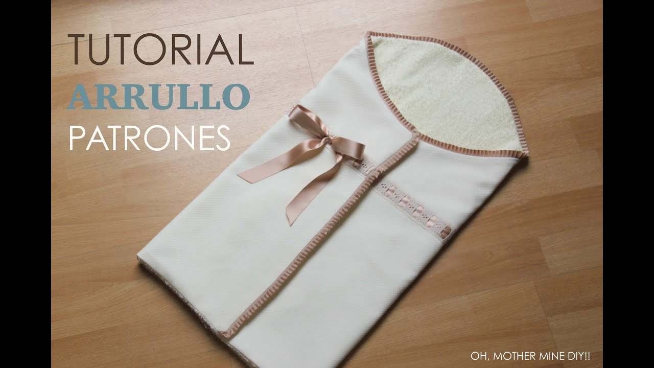 Tutorial DIY y patrones: Arrullo de bebé - YouTube