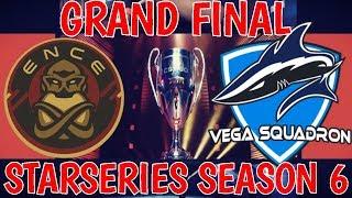 ENCE vs Vega Squadron StarSeries i-League CS:GO Season 6 Highlights - Map 1 - Train - FINAL