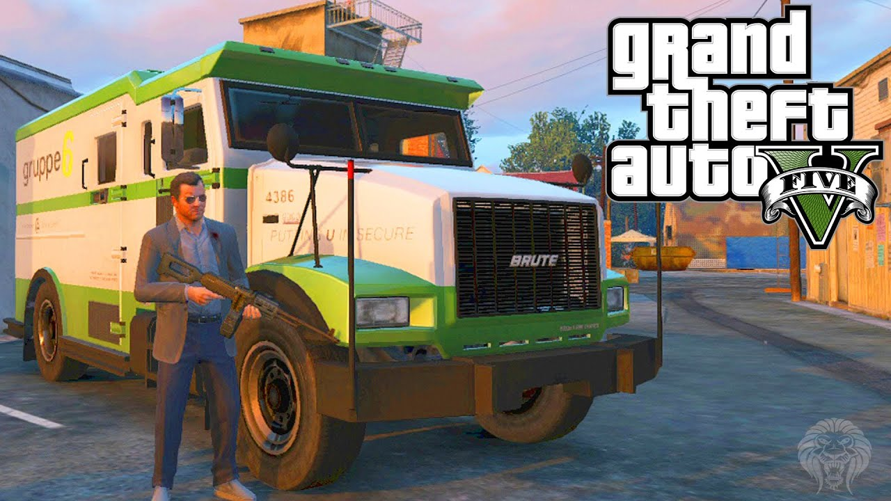 GTA 5: How To Make Huge Amounts Of Money Robbing Security Trucks + ...