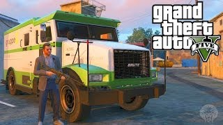 One of Unknown Player's most viewed videos: GTA 5: How To Make Huge Amounts Of Money Robbing Security Trucks + All Locations(Grand Theft Auto V)
