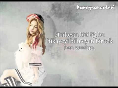 Ailee - Scandal - Türkçe Çevirsi.