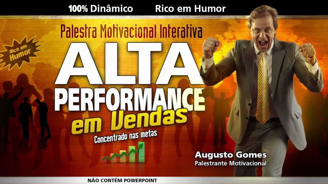 Palestra Alta Performance Em Vendas