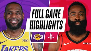 Game Recap: Lakers 117, Rockets 100