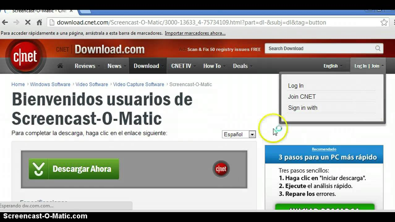como descargar screencast-o-matic full gratis - YouTube
