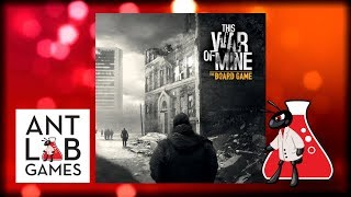 This War of Mine: The Board Game Playthrough Review