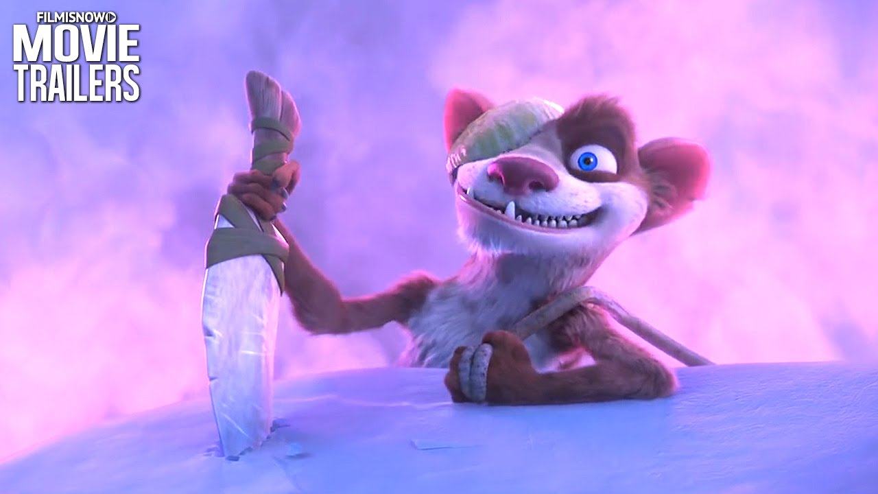 also buck is back in new clips for ice age collision course youtube rh