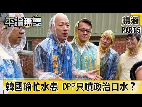 為解高雄水患 韓國瑜忙清「長年沉痾」 DPP只噴「政治口水」?《平論無雙》精華篇 2019.07.16-5