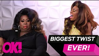 """Biggest Twist In Drag Race Herstory"" Latrice & Jasmine Spill The TEA On 'All Stars 4'"