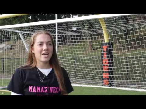 A video of varsity soccer Captain Sophia Howard, Mamaroneck High School/Daily Voice's Standout Student-Athlete of the Week. Produced by MHS seniors Jack Spiridellis and Will Young.