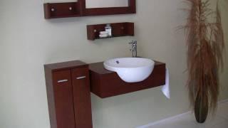 Fresca Stile Modern Bathroom Vanity W/ 3 Wall Mounted Shelves & Side Cabinet - Fvn3520