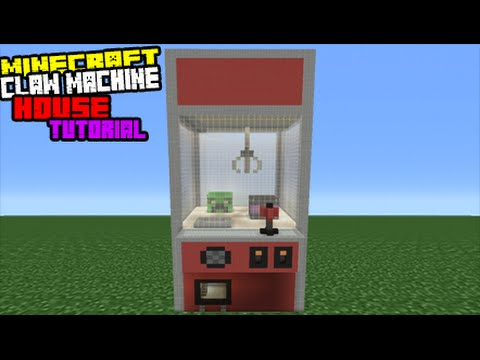 Minecraft Tutorial: How To Make A Claw Machine House