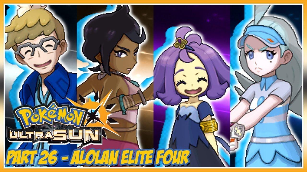 pokemon ultra moon elite four guide