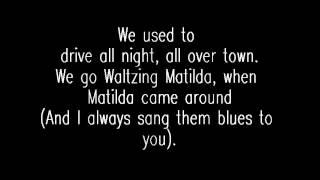 The Gaslight Anthem- I Coulda Been a Contender lyrics